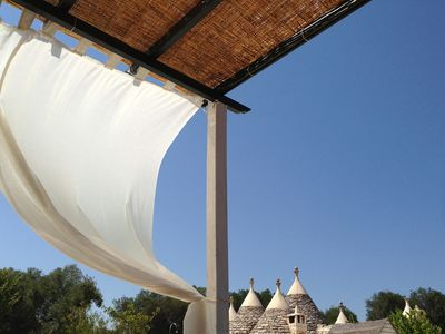 Photo for Villa with trullo and swimming pool for a dream vacation in the heart of Puglia