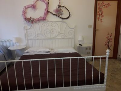 Photo for In the city center, comfortable apartment sea view garage  pets allowed WiFi