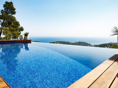 Photo for This 3-bedroom villa for up to 6 guests is located in Lloret De Mar and has a private swimming pool,