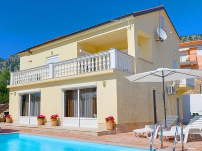 Photo for This 5-bedroom villa for up to 10 guests is located in Crikvenica and has a private swimming pool, a