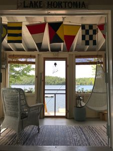 Photo for Vintage 1920's Lake Front Cottage on Beautiful Lake Hortonia in Central Vermont