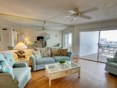 Photo for Beautiful Condo w/Private Balcony, Pool, Sauna, Private Beach Access, & More!