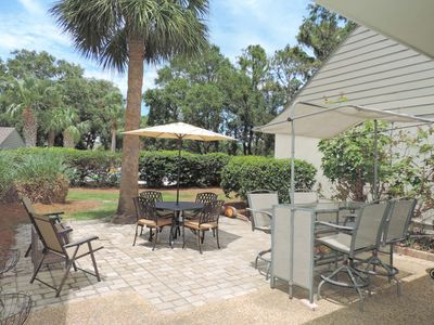 Conveniently located in Palmetto Dunes on the Robert Trent Jones Golf course in Hilton Head Island!