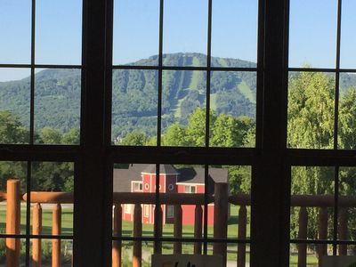 Photo for New cabin with stunning view of Elk Mountain