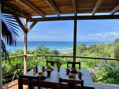 Photo for Quiet Jungle House with panoramic Ocean View