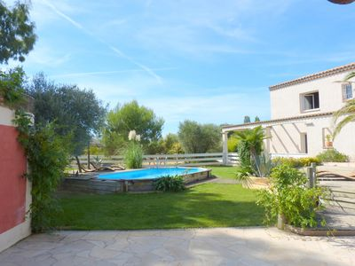 Photo for Beautiful villa in the South of France Pézenas - Swimming pool and big garden