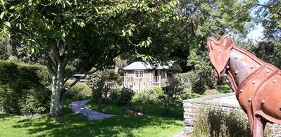 Photo for Log cabin  near to Port Issac and Tintagel in north Cornwall