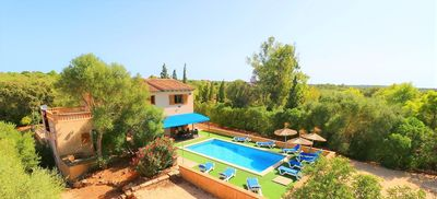 Photo for Sa Pedrera villa in a quiet area in the south of Mallorca 406