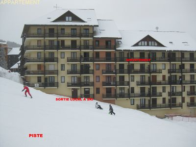 Photo for apartment at the foot of the slopes at Puy Saint Vincent 1700.