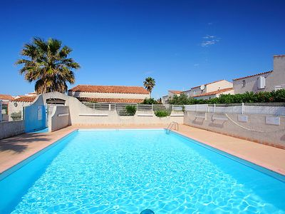 Photo for 2 bedroom Villa, sleeps 4 in Le Cap D'Agde with Pool and WiFi