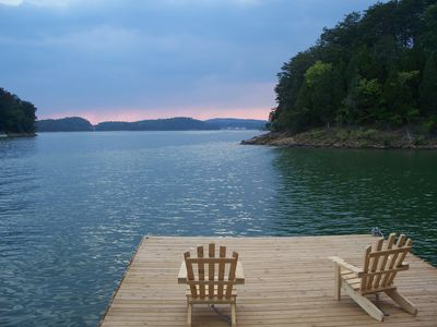 Photo for THE NEW Lakeside Point On Douglas Lake LAKEFRONT 3 BR 2BA