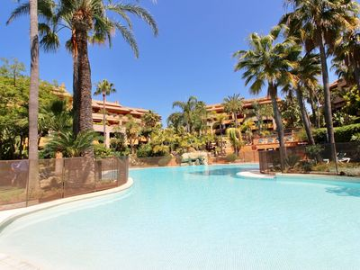 Photo for Spectacular apartment 50 meters from the beach