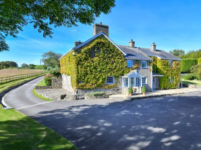 Photo for Pant yr Hwch is a prestigious detached property set on a private 28 acre estate less than a mile fro