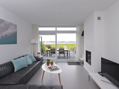 Photo for Holiday house, with sea view, 6 persons, free Wi-Fi, at the Veerse sea