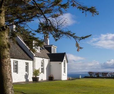 Photo for Beautiful cottage, stunning sea and hillside views.  Wifi, family & pet friendly