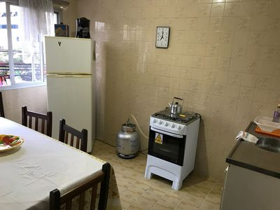 Photo for Apartment 2 rooms, 6 people, air-conditioning, wi-fi, balcony, large living room.