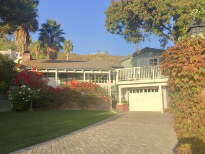 Photo for Ocean View Home with Gated Yard - Short Walk to Beach