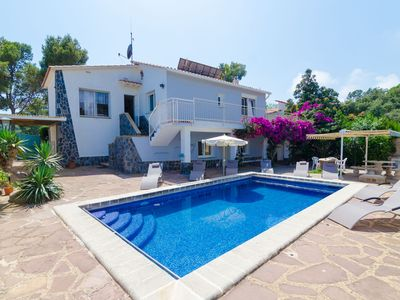 Photo for Club Villamar - Nice and cozy 2 story villa with private pool and located at only 1 km from the b...