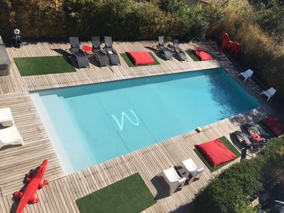 Photo for STUDIO 2 PEOPLE 500m PORT WITH POOL, SPA, GYM, SAUNA, PARKING