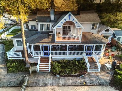Photo for Macatawa Waterfront by 'Big Red' / Cottage Living for 2