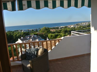 Photo for Beautiful large penthouse with huge terraces and amazing panoramic sea views