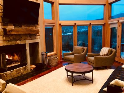 Photo for Incredible views of Mt. Washington in newly renovated 5 bedroom home, slopeside