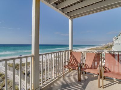 Photo for Huge, oceanfront home w/ gorgeous views - walk to shopping, dining, & state park