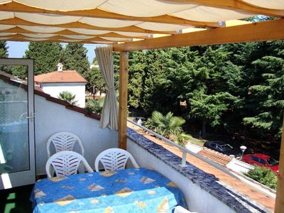 Photo for Three bedroom apartment with terrace and sea view Umag