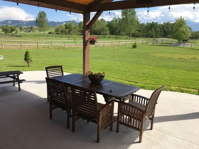 Photo for Beautiful home on the Powderhorn golf course; gorgeous mountain views.