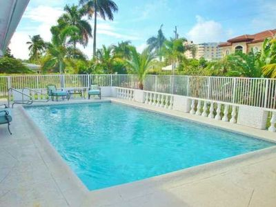 Photo for Tropical Paradise by the Sea - Pool and 10 min Walk to Beach