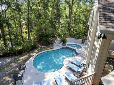 Photo for This multi-family home is perfect for the golfer, tennis player, and beach lover.