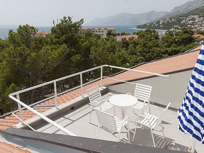 Photo for Holiday apartment directly on the sea and beach