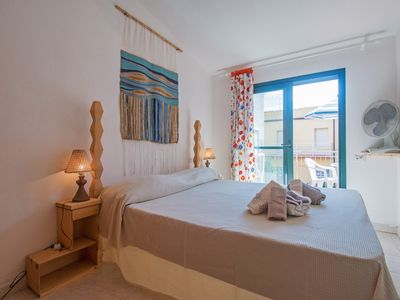 Photo for Blue house, 100 meters from sea in La Caletta-Sardinia