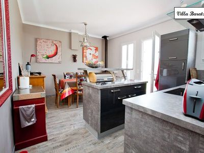 Photo for New Basque style house, 6 people, 3 bedrooms, large garden