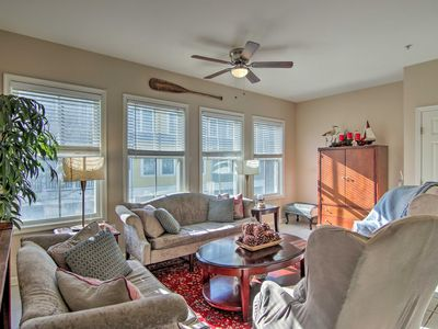 Photo for NEW! 4-Story Family Townhome - Walk to Beach!