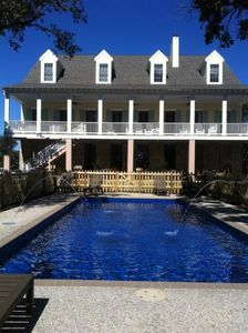 Photo for 20 Oaks Beautiful location and home on the Beach, perfe