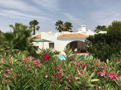 Photo for Casa Cel Blue, near the sea, large pool, beautiful large garden, family friendly