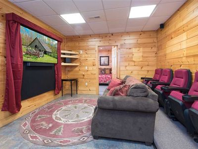 Photo for Eagles Escape  | Theater & Game Rooms | Hot Tub | Covered Firepit | Pets Welcome | Sleeps 12