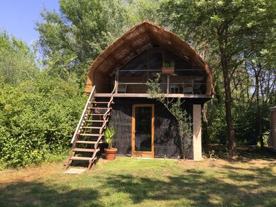 Photo for Glamping en Provence-Bois de Planets Neptune glamp on private farmland