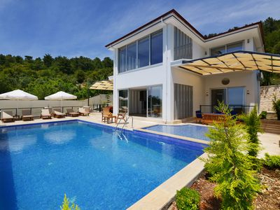 Photo for Villa Zilan. Modern 4 Bedroom Villa With a Private Pool and  Heated Whirl-pool.