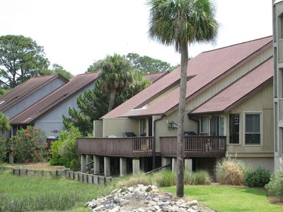 Photo for Steps to Beach, Gorgeous Marsh Views, Central location w 4 Amenity cards