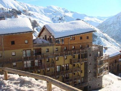 Photo for 100m from shops, 4th floor, view mountain, parking, tv, ski locker, 45m², Orcières Merlette 1850
