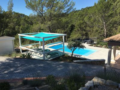 Photo for Villa with swimming pool between the French Riviera and Gorges du Verdon (8 persons)