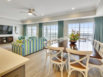 Pier Watch Villas I 306 6 Br Oceanfront Condo with Outdoor Pool and Game Room