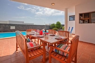 Photo for Detached Villa With Private Heated Pool And Free WiFi