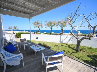 Photo for Cala Paura Appartament in Residence – with front sea view veranda