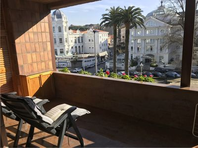 Photo for Spectacular apartment in the Sardinero with terrace, on the beachfront
