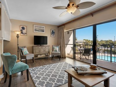 Photo for Beautiful Gulf Side Condo ~ Located in the Heart of Seagrove Beach!