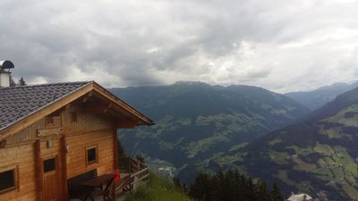 Photo for Quaint holiday cabin in a beautiful secluded location in the Zillertal mountains