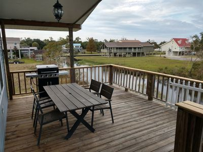 Photo for Waterfront Home with a flair for comfort. Easy access to Jourdan River
